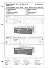 Blaupunkt Service Manual für Alpha Audi-VW