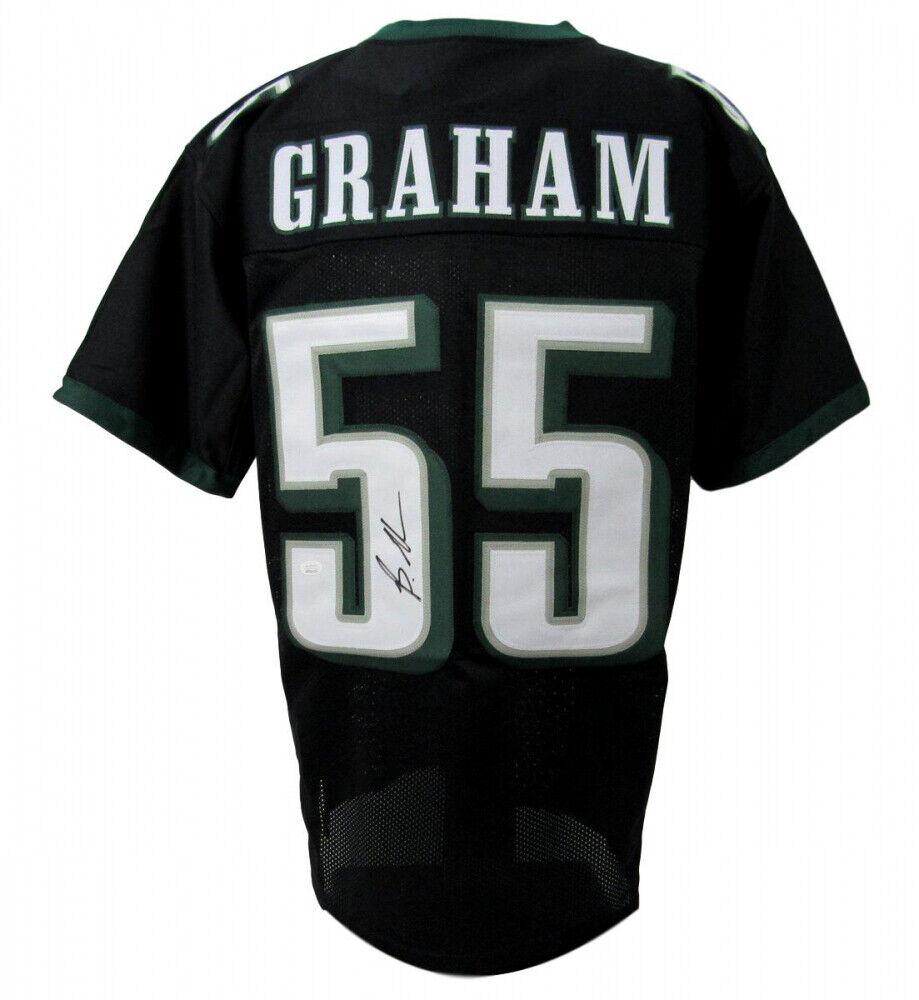Brandon Graham Firmado Philadelphia Eagles Jersey ( JSA COA Inicio Defensivo