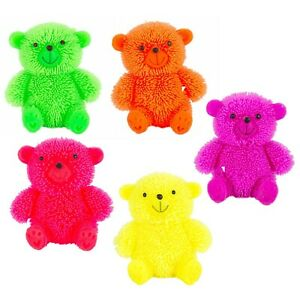Kids-Light-Up-Flashing-Puffer-Teddy-Bear-Squishy-LED-Sensory-Toy