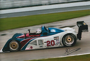 Andy-WALLACE-SIGNED-Autograph-12x8-Photo-AFTAL-COA-Porsche-Daytona-Speedway