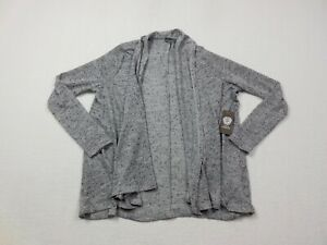 NEW-Vince-Camuto-Cardigan-Womens-Small-Heather-Grey-Coat-Casual-Ladies-Top
