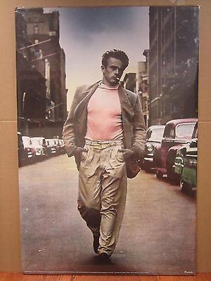 Vintage James Dean 1994 poster actor hot guy 3577