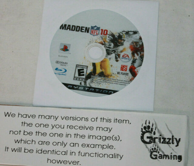 EA Sports Madden NFL '10 PS3 (NTSC) (Disc Only)