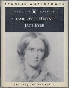 Charlotte-Bronte-Jane-Eyre-2-Cassette-Audio-Book-NEW-Abridged-Juliet-Stevenson