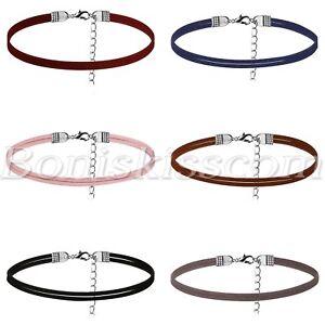 6pcs-Women-Charm-Harajuku-Velvet-Ribbon-Tattoo-Collar-Necklace-Party-Chokers-Set