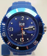 Ice Watch Men's SI.BE.B.S.09 Blue Dial Silicone Strap Watch