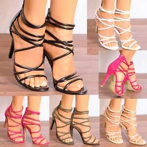 LADIES-STRAPPY-OPEN-PEEP-TOE-STILETTO-HIGH-HEELS-SANDALS-PARTY-SHOES