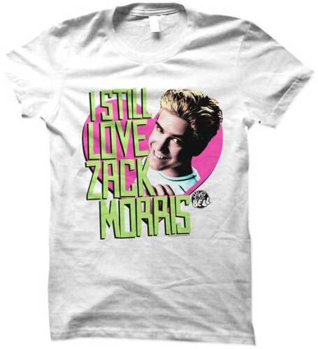 Saved By The Bell I Still Love Zack Morris Womans Fitted T Shirt