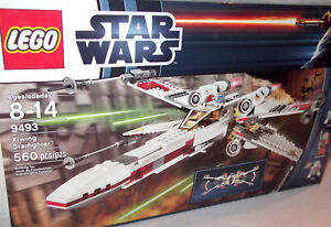 LEGO-STAR-WARS-X-WING-STARFIGHTER-9493-NEW-Factory-Sealed