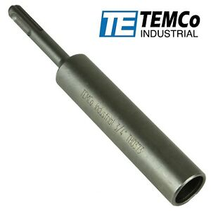 """TEMCo Industrial - 3/4"""" Bore SDS PLUS Ground Rod Driver"""