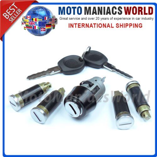 VW T4 1990-2003 Ignition Switch Lock Barrel /& Door Lock SET 5 pcs BRAND NEW !!!