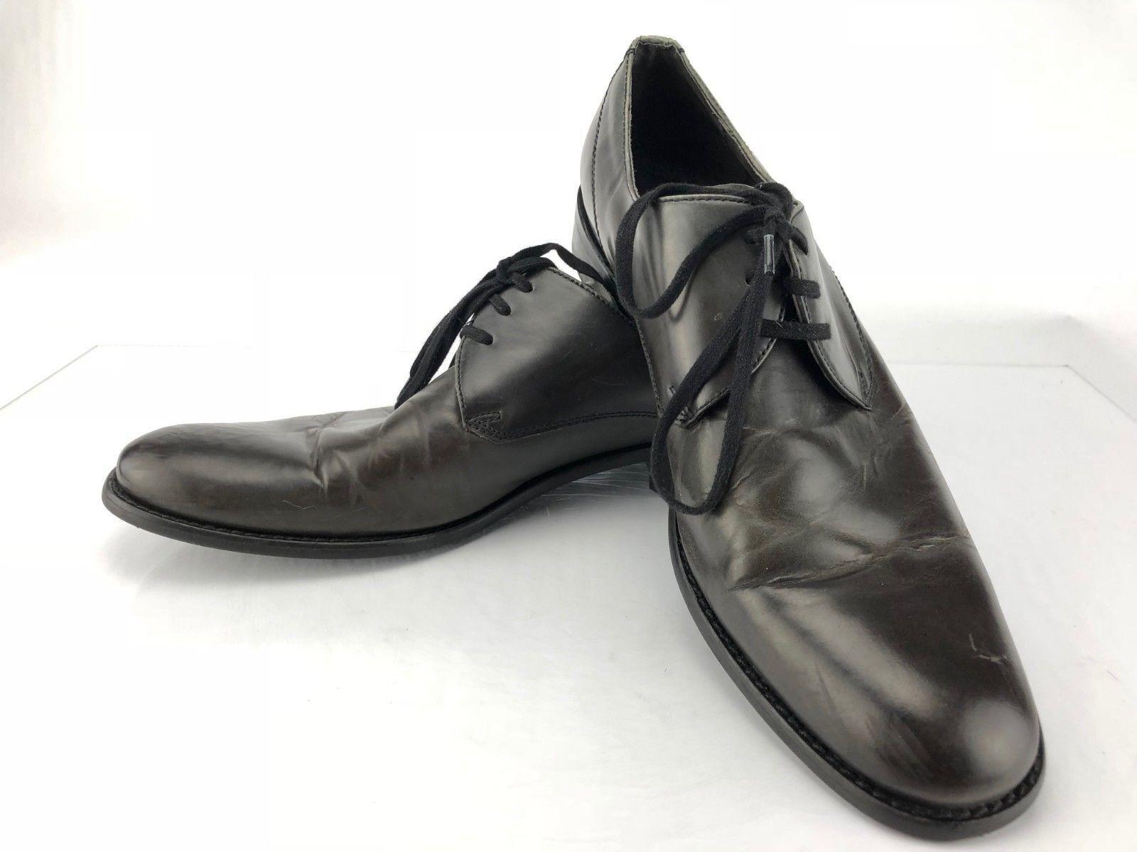 John Varvatos Dress shoes - Brown Leather Lace Up Formal Derby Men's Size 10M