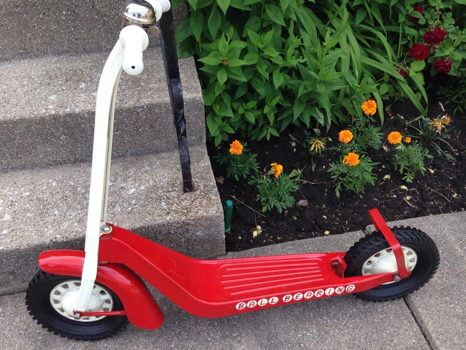 Nuevo todos los productos de acero Original-Vintage Hamilton Juguete Scooter-Pintura Original