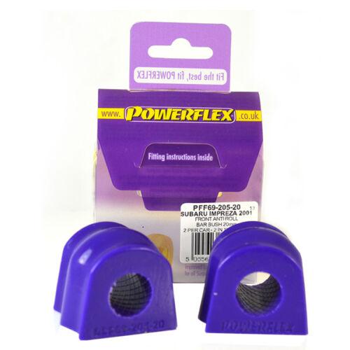 PFF69-205-20 Powerflex Front Anti Roll Bar Bushes ROAD SERIES 2 in Box