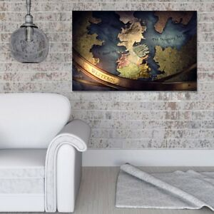 Details about Framed Game of Thrones Map Canvas Art Home Decor Wall on game of thrones live map, game of thrones people map, game of thrones books map, game of thrones family map, game of thrones antique map, game of thrones black and white map, game of thrones poster map,