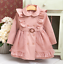 Girls-Double-Breasted-Ruffle-Trench-Coat-Long-Sleeve-Lace-Princess-Jacket-Dress thumbnail 9