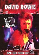 DVD David Bowie Up Close and Personal DVD & Book Set NEW SEALED