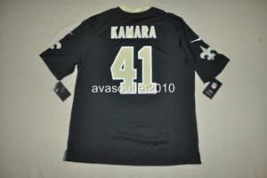 ALVIN KAMARA Jersey  41 New Orleans Saints Nike Game Jersey Black ... d635df2f2