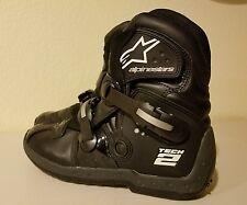 ☆NEAR MINT☆ Alpinestars Tech 2 Size 12 Boots EU Size 47
