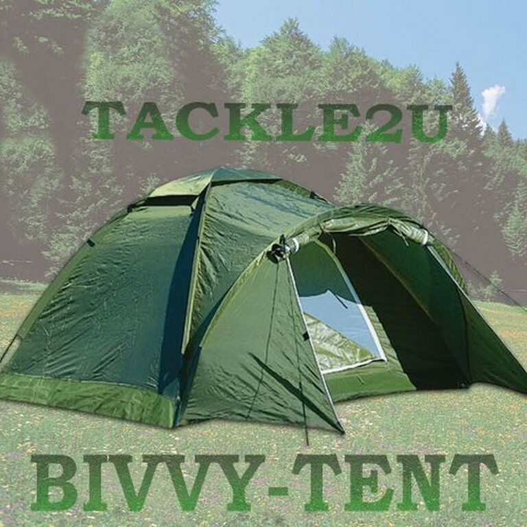 SUPERB BIVVY TENT,CARP FISHING,CAMPING,FESTIVALS,,2 3 MAN,BARGAIN. + FREE GIFT
