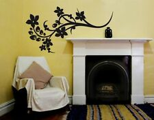 Peacock Flower - Highest Quality Wall Decal Sticker