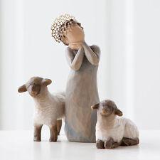 Willow Tree Little Shepherdess Nativity Figurines Christmas Demdaco Pieces Boxed