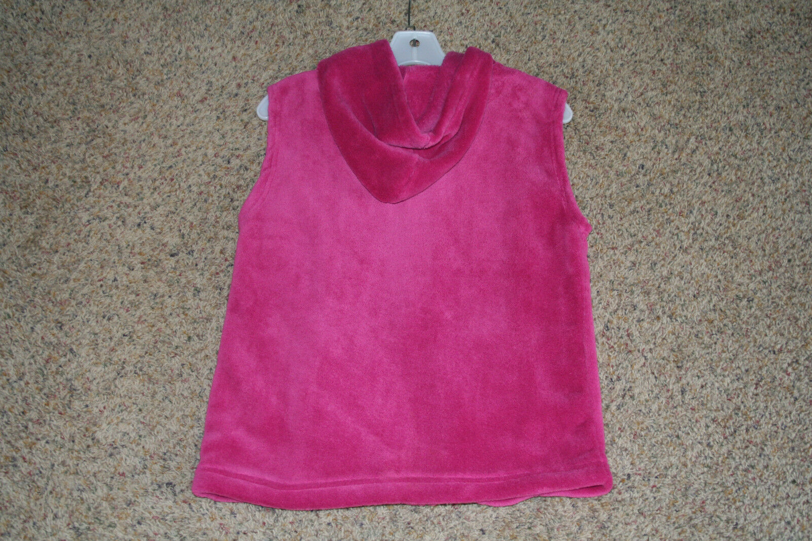 Effeci Women's Hooded Vest Vest Vest Mulberry color Size Medium NEW WITH TAGS 15f2a9
