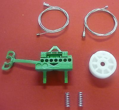 FIAT PUNTO electric window winder regulator cables /& clips front right S3256