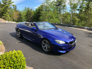 2014 BMW M6 Cabriolet Convertible -39,600 kms In Great Condition