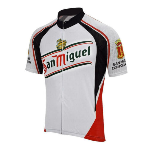 San Miguel Beer Retro CYCLING Jersey   Cycling Short Sleeve Jersey