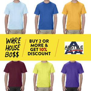 AAA-1301-ALSTYLE-MENS-PLAIN-SHORT-SLEEVE-T-SHIRT-CASUAL-SHIRTS-BASIC-COTTON-TEE