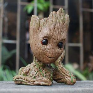 Guardians of The Galaxy Baby Groot Tree Man Figure Flowerpot Pen Pot Child Gift