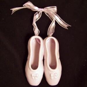 New Ballet Dance Recital Gift Ballerina Slippers Shoes Keepsake Ornament