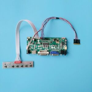 HDMI+DVI+VGA Kit for HSD173PUW1-A01 LCD LED lvds Controller Driver Board
