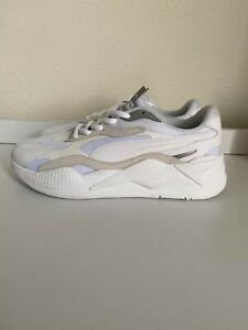 Puma-RS-X3-Puzzle-White-Silver-Sneakers-Men-039-s-Size-9-Brand-New-Without-Box