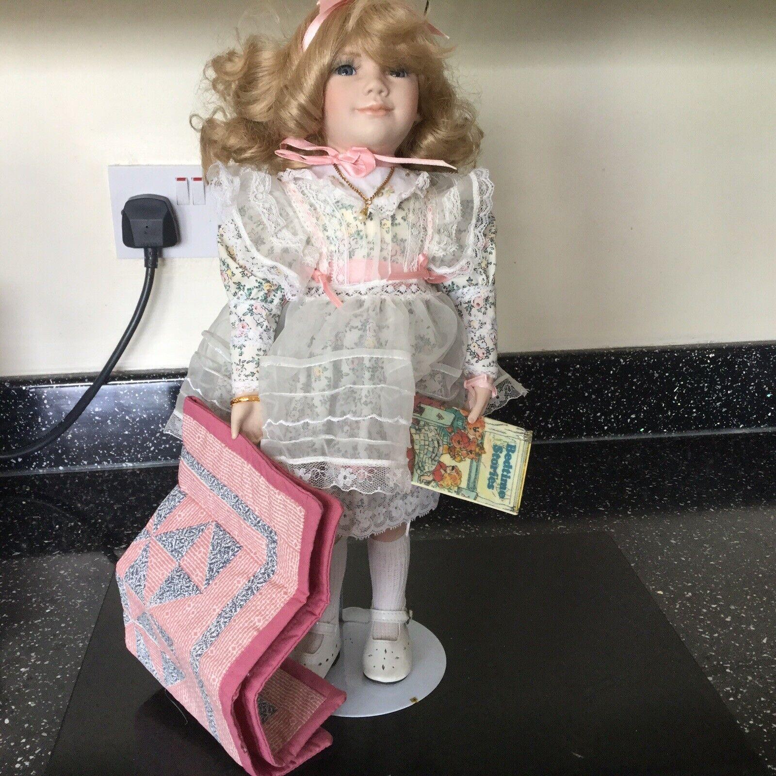 VINTAGE Hamilton Collection Bambola di PORCELLANA-Victoria By Jennifer ESTEBAN 1993   marchi di moda