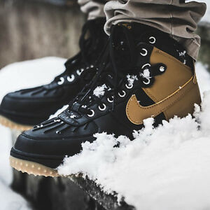 online retailer 342b6 78fbf Image is loading Nike-Air-Force-1-Duckboot-444745-006