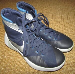 7431145a3520 Image is loading 2015-Nike-Hyperdunk-Womens-TB-Navy-Metallic-Silver-