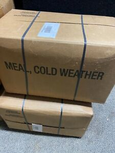 SURVIVAL ARMY MILITARY SPECIAL FORCES MEAL Cold Weather MRE Sealed Case 03/22