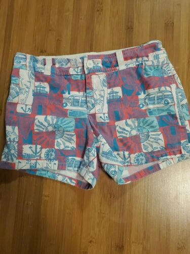 RARE Lilly Pulitzer  Palm Beach Shorts Size 4 Nant