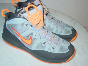 640c629c9756 2012 Nike Air Max Uptempo Fuse 360 Stadium Gray Bright Citrus Shoes ...