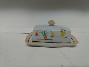 Vintage-Garden-China-Butter-Dish-With-Lid