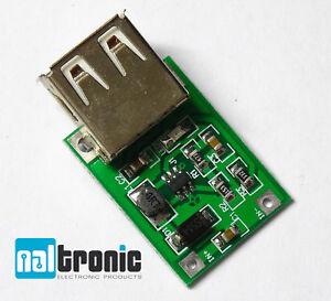 USB Step Up Wandler DC-DC 3V - 5V Spannungsregle<wbr/>r Power Modul Booster 196