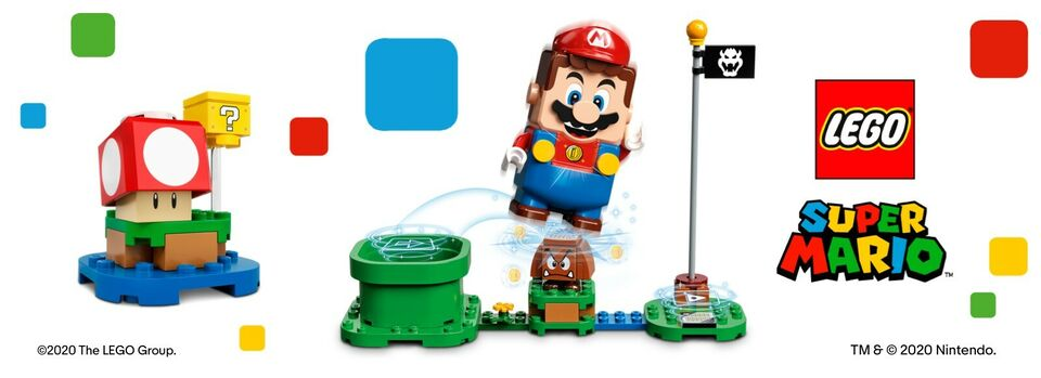 Start your adventure - Pre-order LEGO® Super Mario™ Starter Course