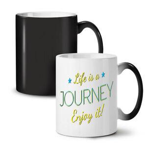 Life Journey NEW Colour Changing Tea Coffee Mug 11 oz | Wellcoda