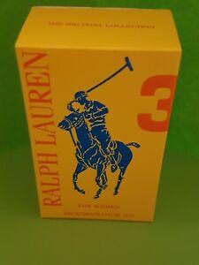 RALPH-LAUREN-3-for-woman-15-ml-Eau-de-Toilette-The-Big-Pony-Collektion-mit-OVP