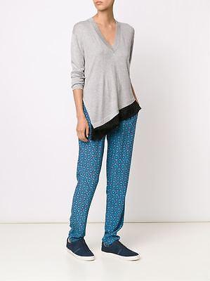 Derek Lam 10 Crosby Mosaic Silk Printed Pant 0 2 4 6 8 NWT $375