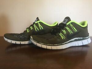 Details about Nike Free 5.0+ Shield Athletic Shoes Men's Size 9 (615988 307)