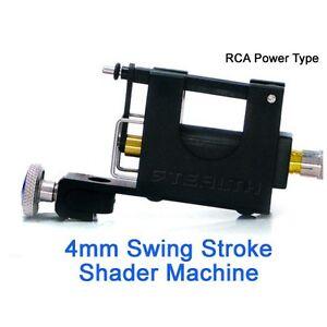STEALTHLITE 4mm Stroke SHADER Rotary Tattoo Machine Strong Quiet ...