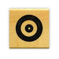 Target, Bullseye Archery Mounted Rubber Stamp, Shooting 14